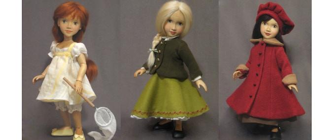 Sophie -  Red Head,  Beth - Blond,  Isabella - Brunette