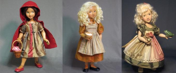 Little Red Riding Hood, Goldilocks, .The Princess & the Frog