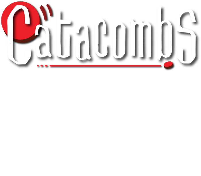Catacombs™ is the award winning, fantasy, dexterity, tabletop game. Players shoot wooden discs through dungeon rooms on a quest to defeat the Catacomb Lord. Compatible with Catacombs & Castles.