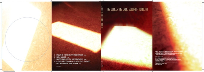 The inside & outside of the digipak design is complete.