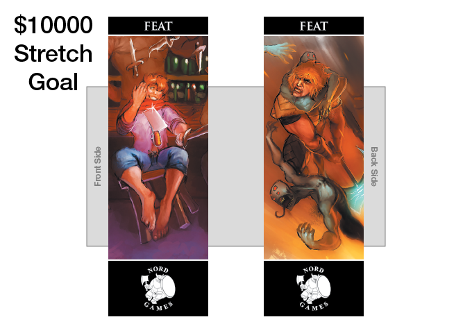 New Bookmark Title and New Artwork! Comes in Player Packs in with all three color borders (UNLOCKED)