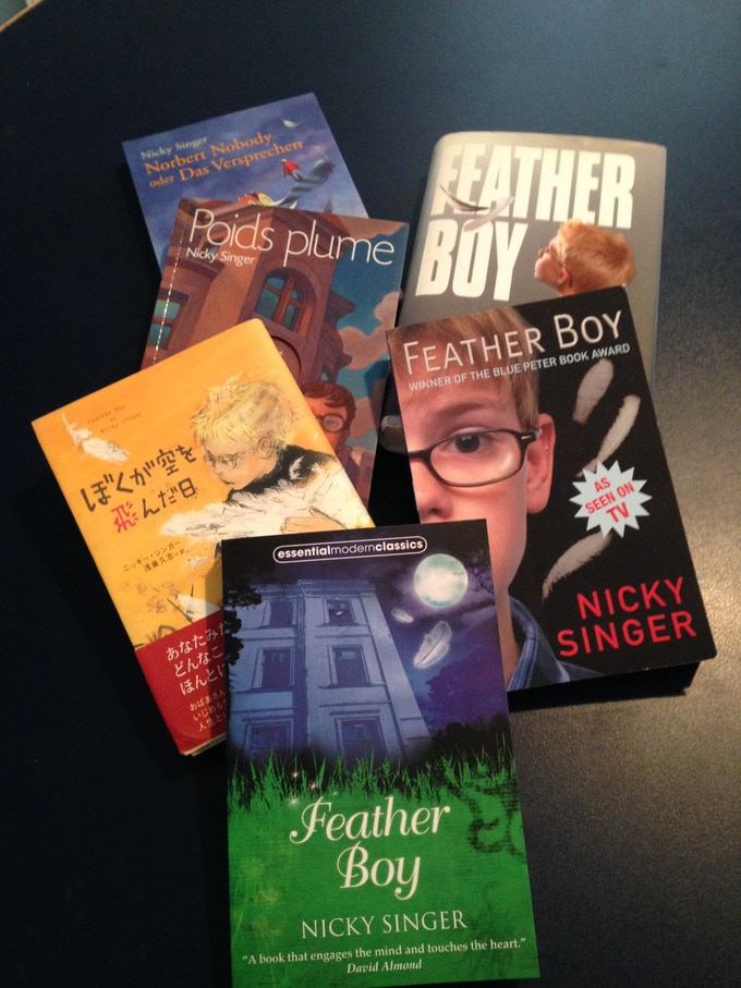 My novel Feather Boy - published in 28 countries