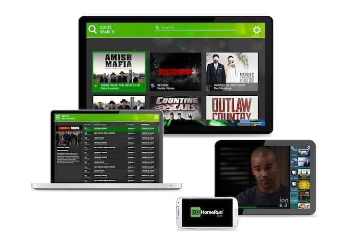 HomeRun DVR playback on popular media devices