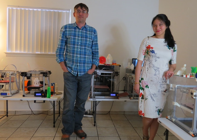 Bogdan Diaconescu, PhD, and Difei Zhang, PhD.