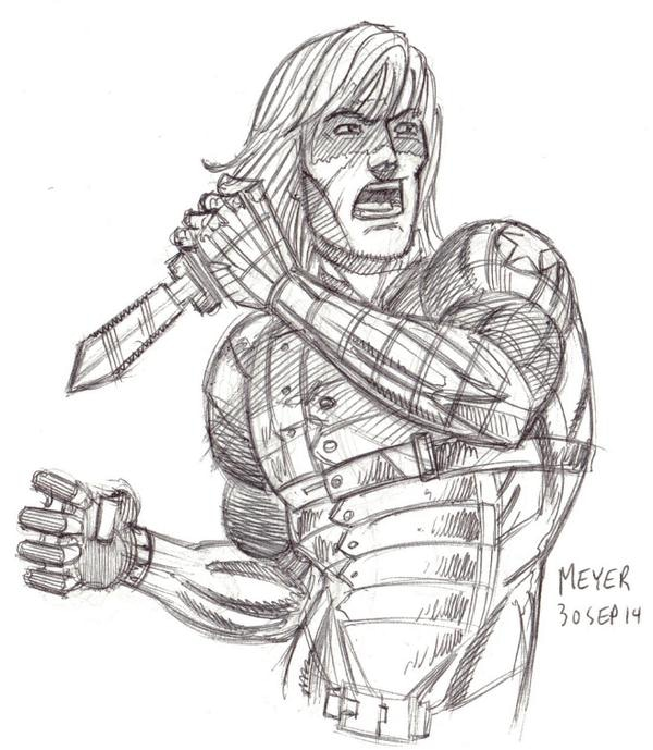 Winter Soldier from SKETCH RAFFLE