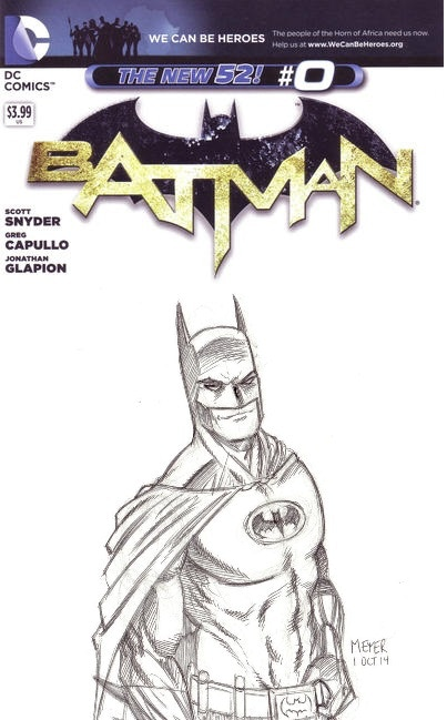 Example of what a sketch cover would look like. Art by me.