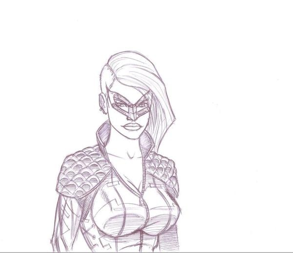 Black Canary from SKETCH RAFFLE