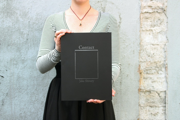 Monograph featuring PDX photographer Jake Shivery's 8x10 contact portraits; 1/2 plates and 1/2 extensive essay. 9x12 inches, 160 pgs. 57 plates + 36 additional images. Perfect bound with foil embossed cover.