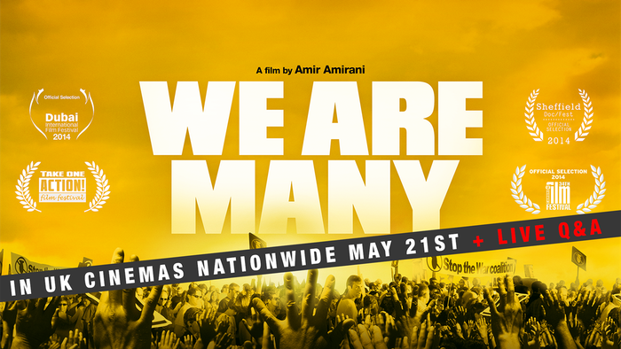 We Are Many is a feature length documentary on the story and legacy of the biggest protest in history, which took place on 15 Feb 2003.