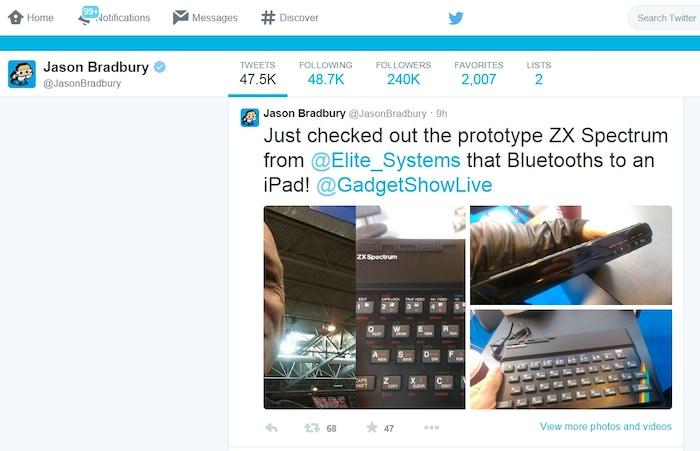 Bluetooth ZX Spectrum: Recreating the Sinclair ZX Spectrum by Elite