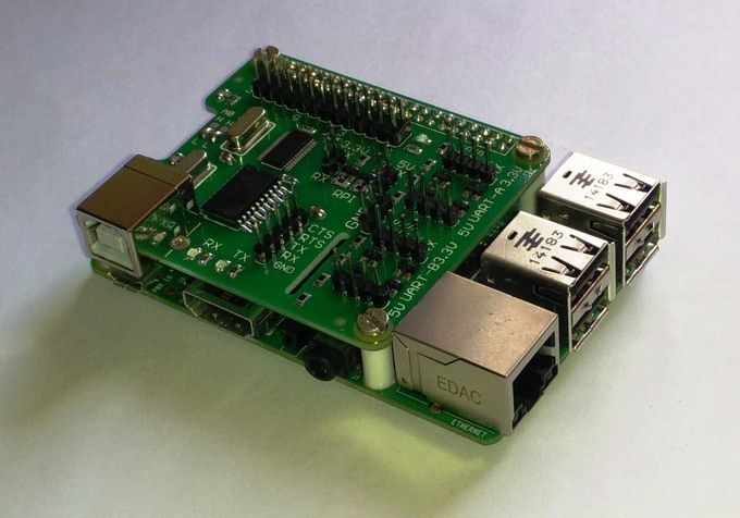 UART HAT For Raspberry PI by SALICON Technologies — Kickstarter
