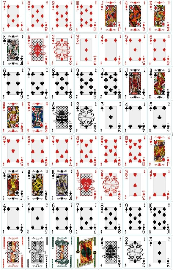 Click on image to view larger PDF view of deck.