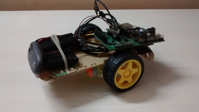 Internet Controlled Robot