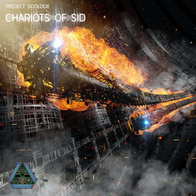The fiery sound of SID hyperspaces into reality, following the tracks of voices 1, 2, 3 and the sample channel...