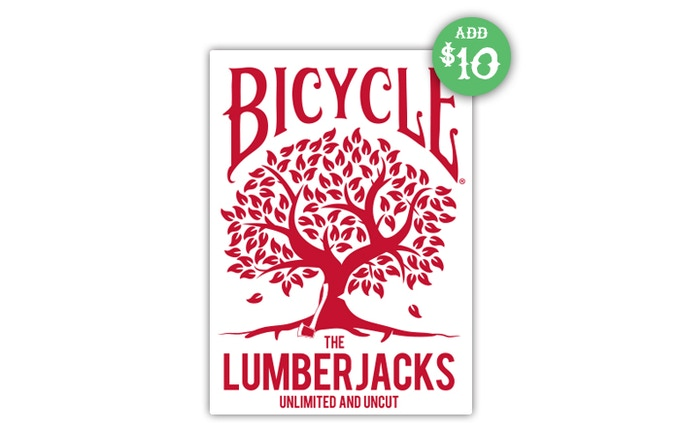 Add $10 to your pledge and receive the 1st Edition of the Lumberjacks