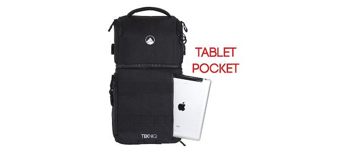Your tablet is encased with padding to keep it safe.