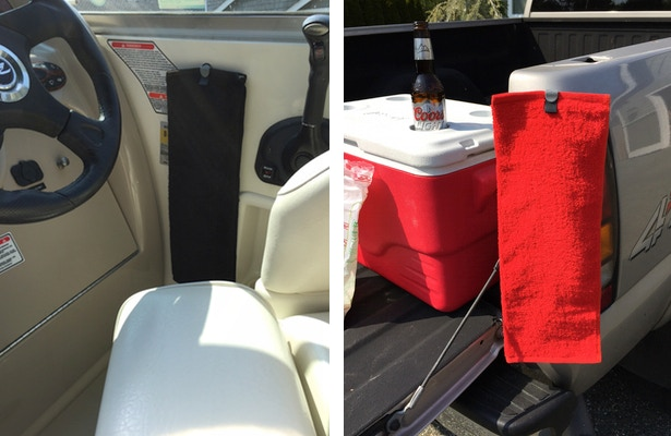 Use them on the boat without the worry of them flying away.  Use them while tailgating at your favorite events.