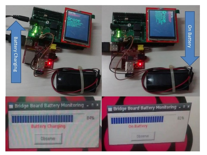 Battery Monitoring using Attiny 85
