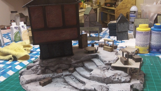 Rat Heart's Trading post. Used in a Pathfinder campaign.