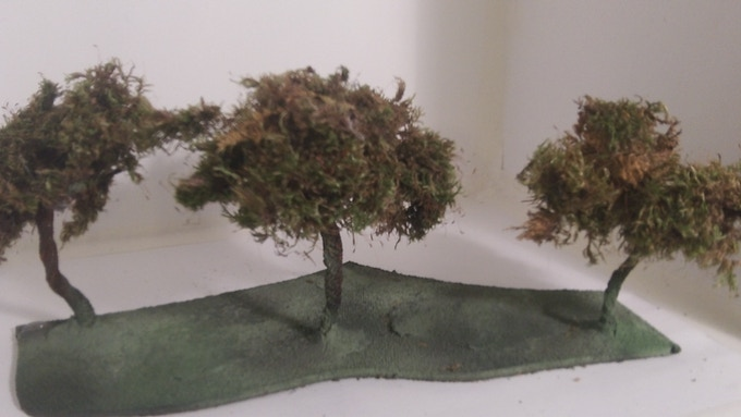 A better look at the early versions of out amazing looking oak style trees.