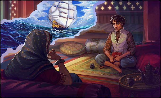 Devan Rensburg telling his story to the Rani