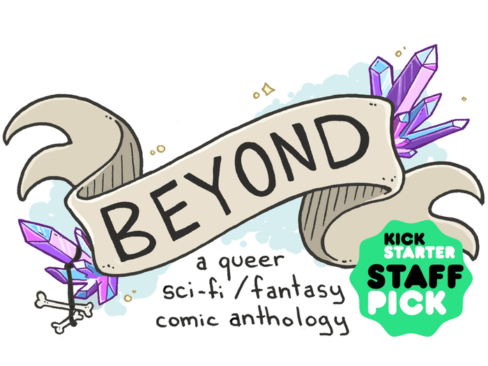 A queer Sci-Fi / Fantasy comic anthology