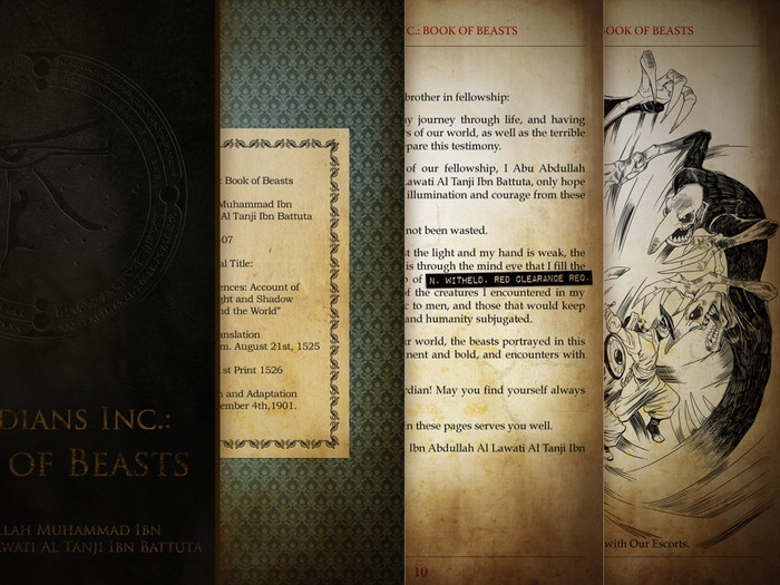 Guardians Inc.: Book of Beasts eBook