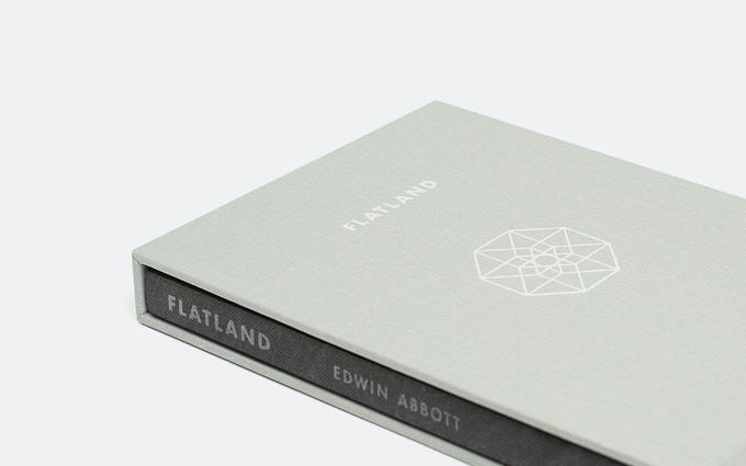 Deluxe slipcase with silver foil stamping