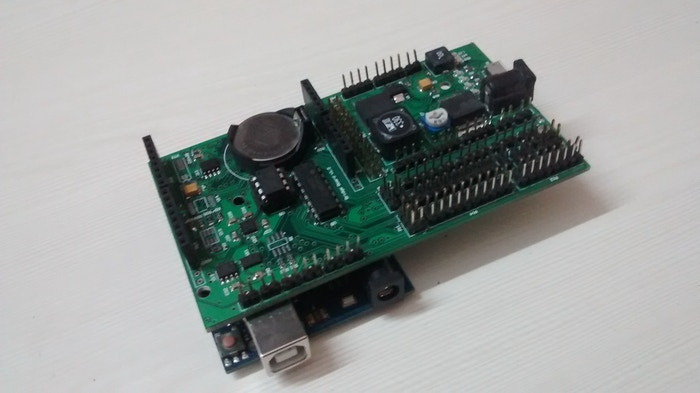 Arduino UNO with Bridge Shield