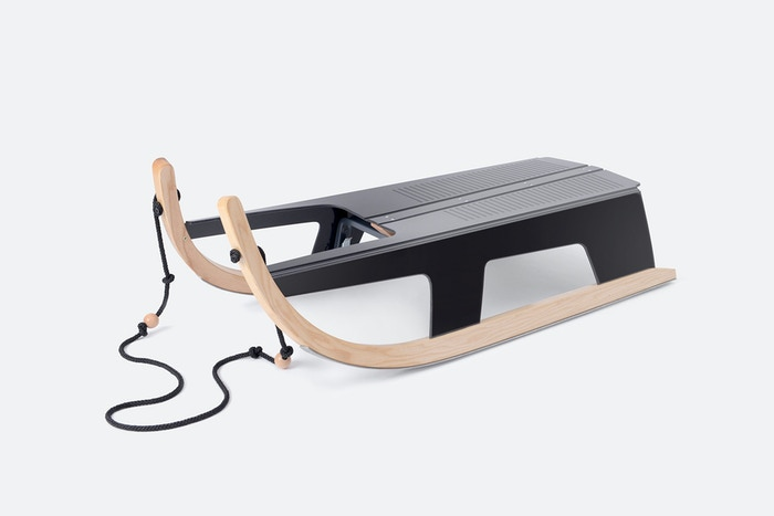 Folding Sled is fun! Reliable, easy-to-use and fits any small space.
