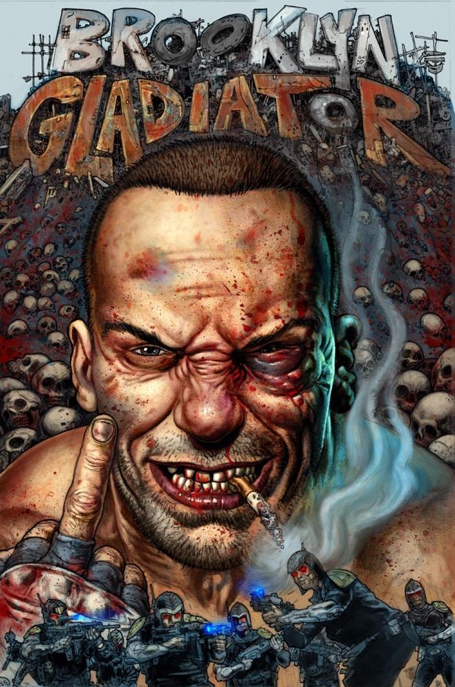 Tom Hodges Auto >> Brooklyn Gladiator by Dan Fogler & Andrew Harrison —Kickstarter