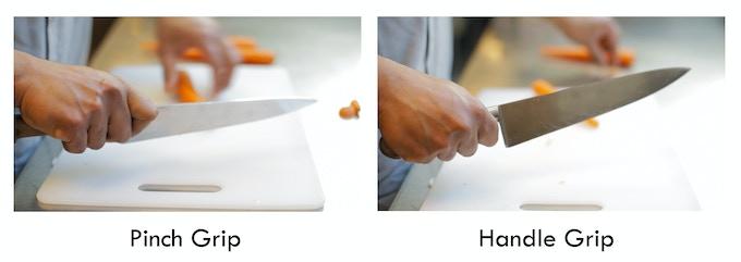 Pinch vs. Handle Grip