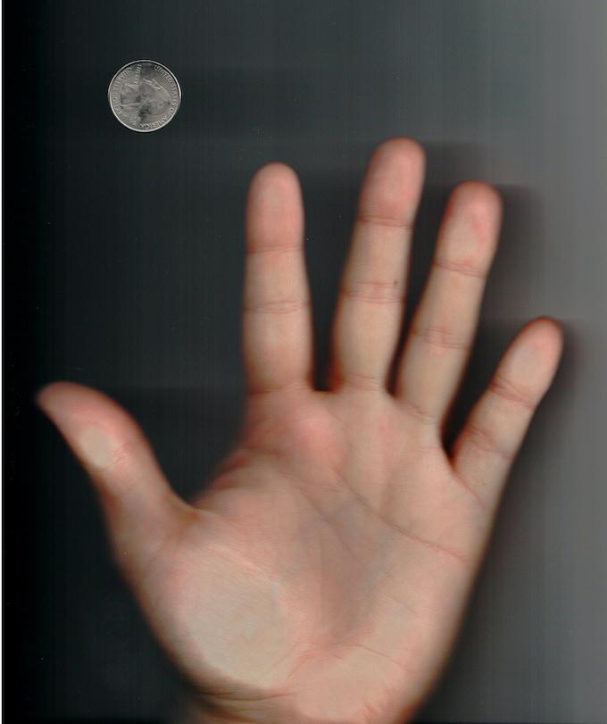 Left Hand Scan