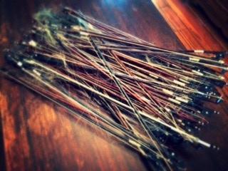 A bundle of Win's dead bows!
