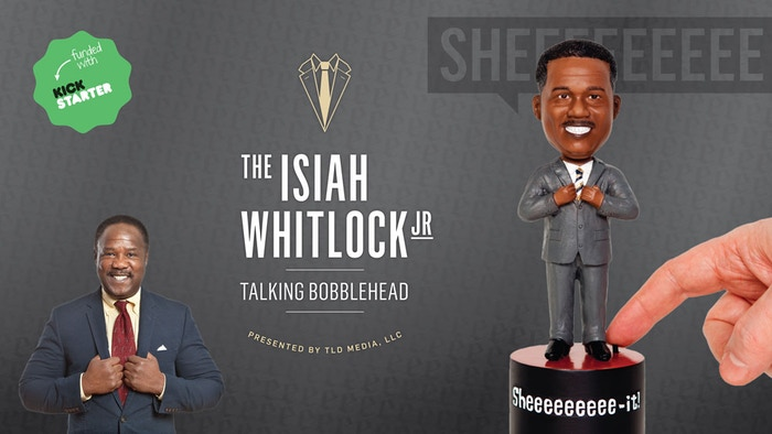 "How often do you wish you had Isiah Whitlock, Jr. around to say ""sheeeeeeeeeit""? Wish granted!"