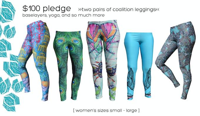 $100 Pledge     2 Pairs Leggings
