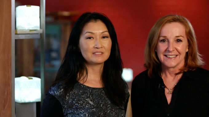 Alice Min Soo Chun and Stacy Kelly, Co-Founders