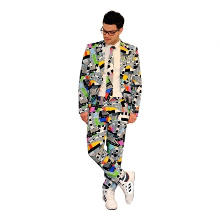 Suit for the Launch Party