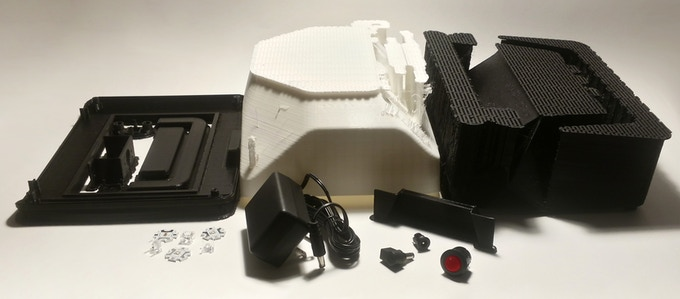 Voxbox Developer Kit (3D printed parts not included)