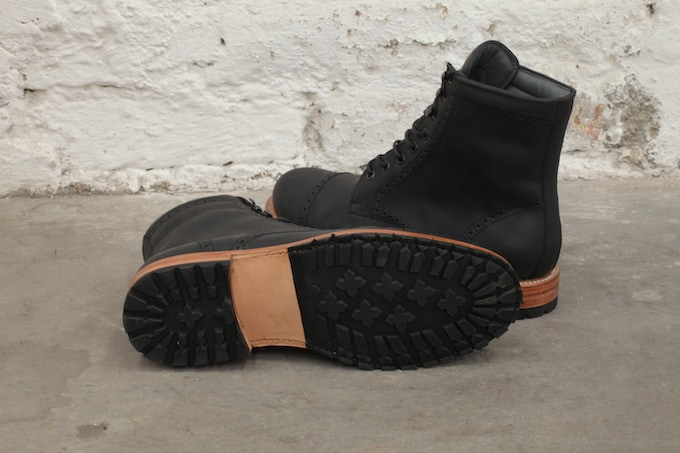 With separate outsoles on the heel & ball of the boot, each can be resoled independently as necessary