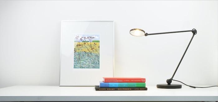 harvey led task lamp by david oxley kickstarter