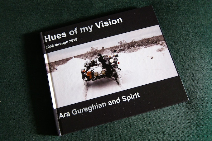 """""""Hues of my Vision"""" Photo Coffee Table Book"""