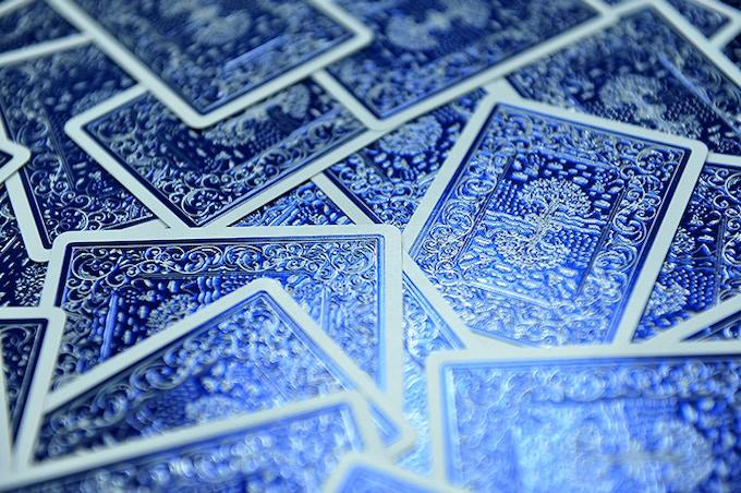 Blue Foil cards