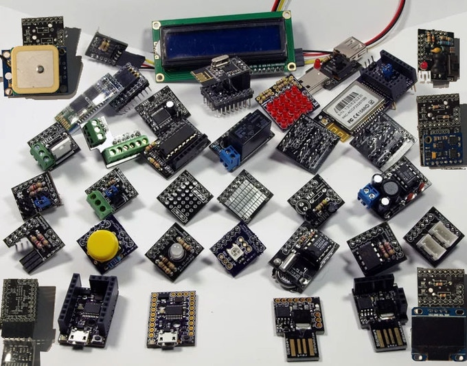 The Digispark Ecosystem of Compatible Shields