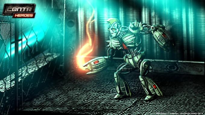 Punk Bot (Fight Robot Class)