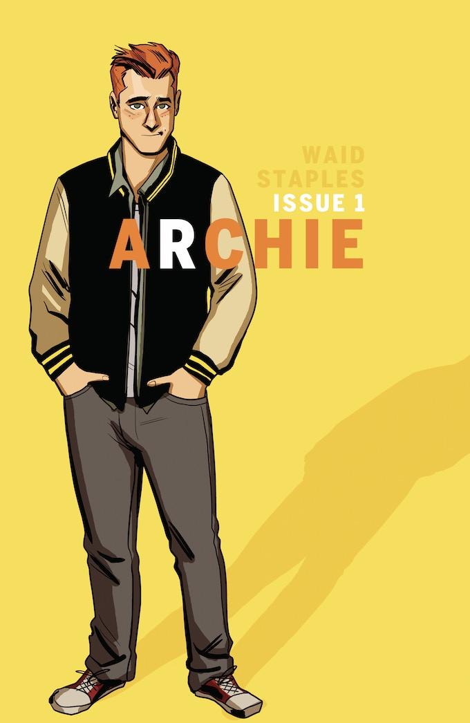 Chip Zdarksy's variant cover for Archie #1