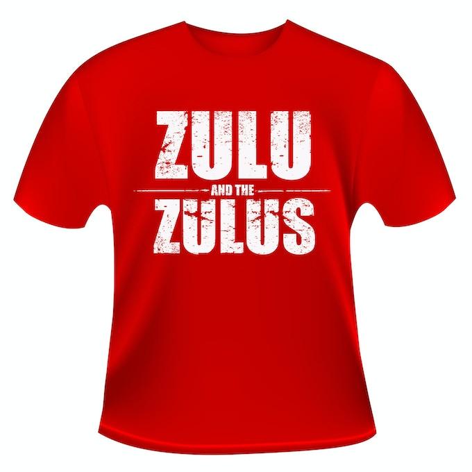 ZULU and the ZULUS T-SHIRT - Not Final product
