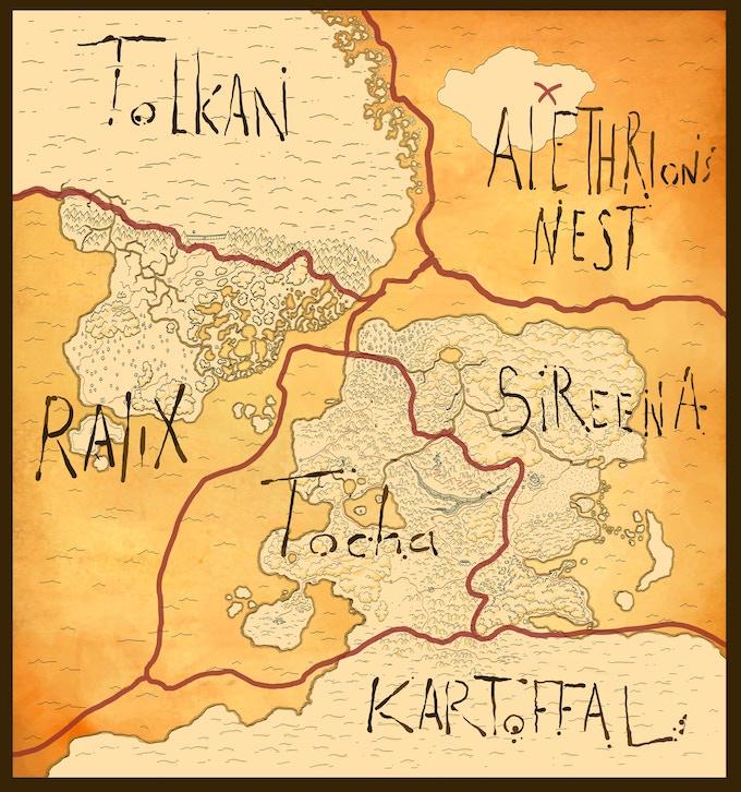 Map of Alethrion