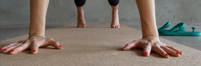 Gurus Premium Cork Yoga Mats Never Slip By Prem Thomas