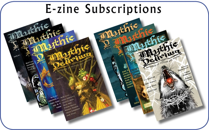 One-year and two-year subscriptions to MYTHIC DELIRIUM